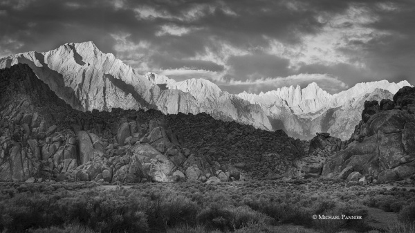 Sunrise, Alabama Hills